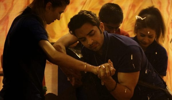 Rohit crosses all his limits to win the task