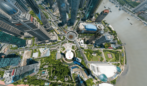 195 Billion pixel image shot from the SHANGHAI'S ORIENTAL PEARL TOWER