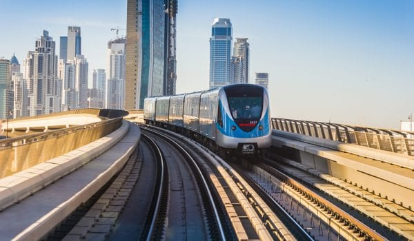 Dubai Metro to the rescue!