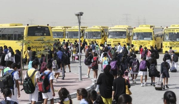 2-WEEK HOLIDAY FOR UAE SCHOOLS ANNOUNCED