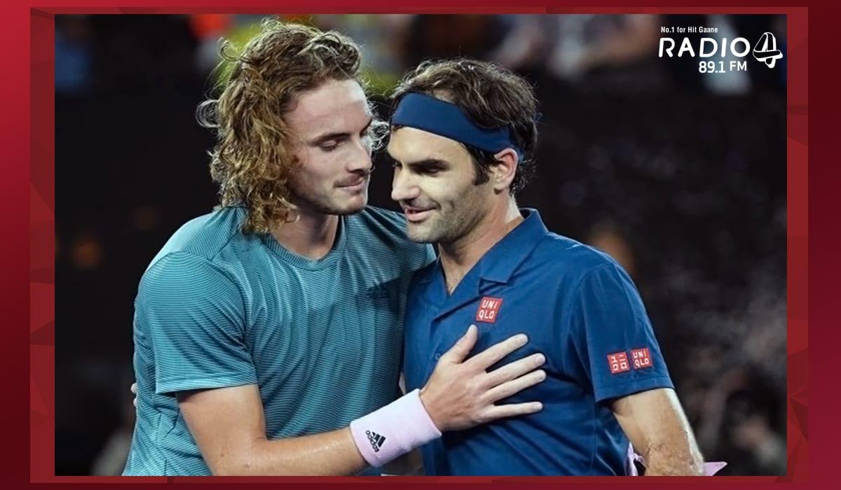 Stefanos Tsitsipas & Federer