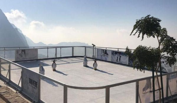 Skate on top of the world in the UAE