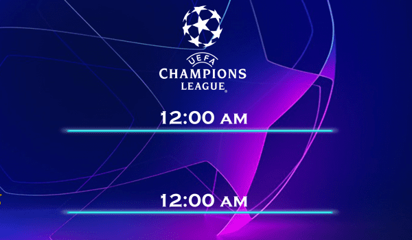 Champions League is back tonight!