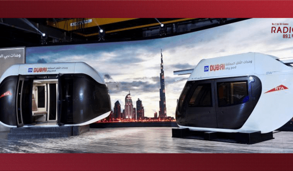 Very soon, you can explore Dubai on Sky Pods