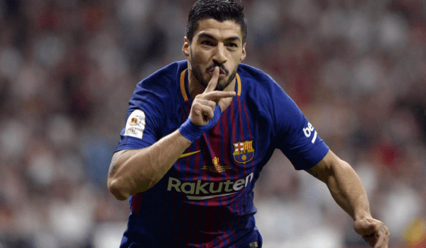 Luis Suarez embarrasses Madrid and takes Barca to the finals