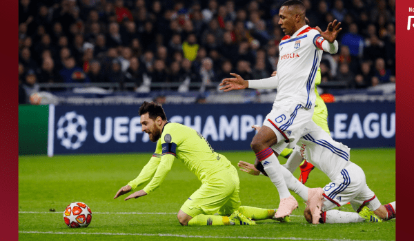Barca vs Lyon – Goalless draw at the Groupama stadium