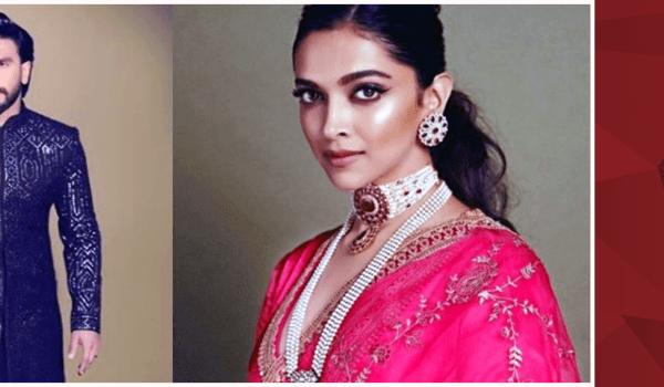 Stunning pictures of Ranveer and Deepika from Akash Ambani and Shloka Mehta's wedding
