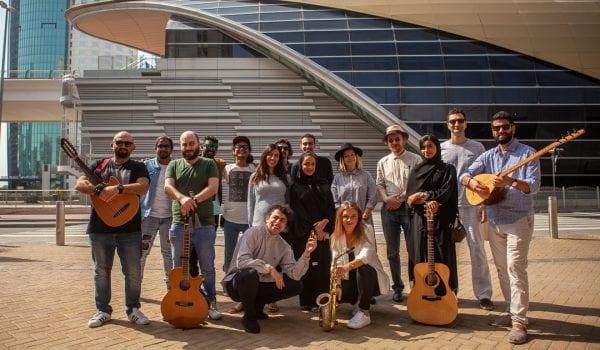 DUBAI METRO IS HOSTING A MUSIC FESTIVAL