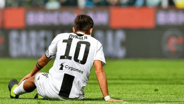 Juventus suffer first Serie A defeat of the season against Genoa