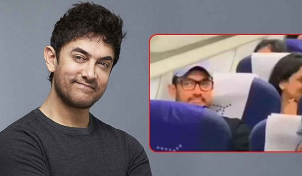 Watch: Aamir Khan leaves passengers awestruck by flying in economy class