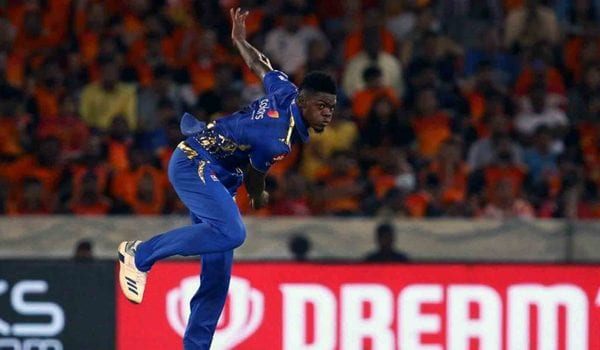 Alzarri Joseph sets an astounding cricket record in his first game