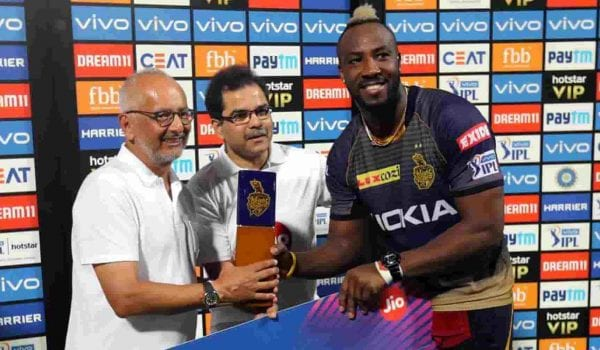 IPL: Russell Muscle wins it for Kolkata!