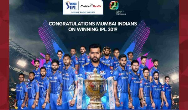 Mumbai Indians beat Chennai Super Kings by 1 run in the IPL finals