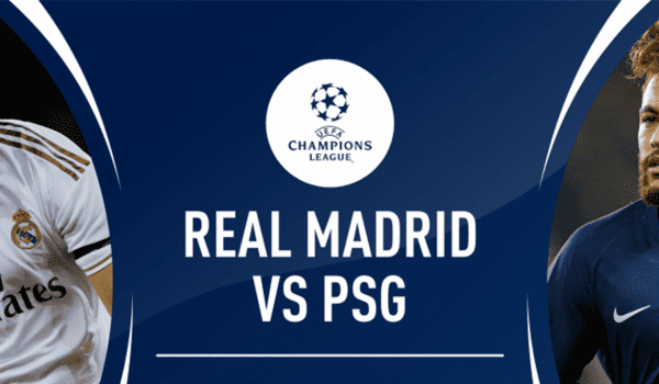 PSG come from two down to draw at Real Madrid in Champions League clash